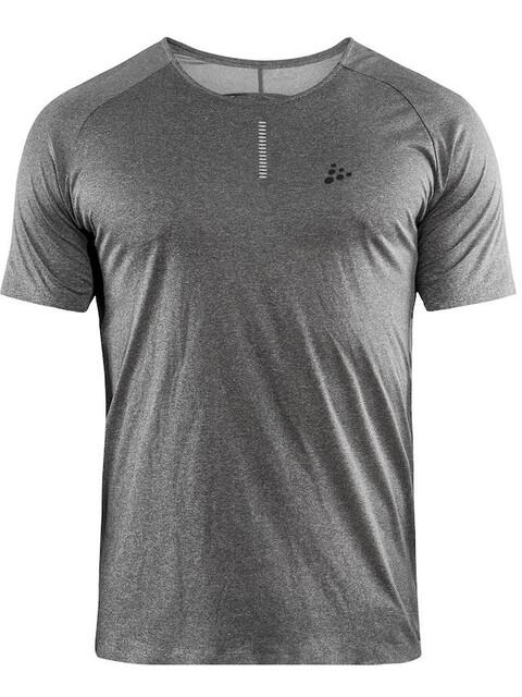 Craft Nanoweight Koszulka do biegania z krótkim rękawem Mężczyźni szary